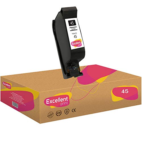 Excellent Print 45 Compatible Cartuchos de Tinta para HP Color Copier 6127 Photosmart 1215 1100 1315