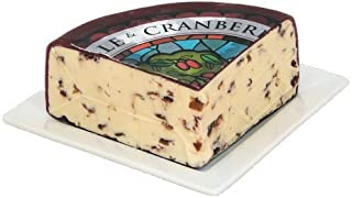 Wensleydale with Cranberries (1 pound) by Gourmet-Food by Somerdale