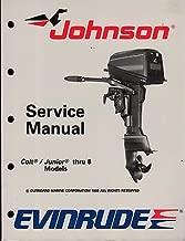1989 OMC EVINRUDE JOHNSON COLT/JUNIOR T0 8 SERVICE MANUAL