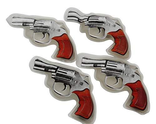 ocona Handwärmer Taschenwärmer Handtaschenwärmer Wärmeknickkissen Heizpad wiederverwendbar 4er Set (Revolver)