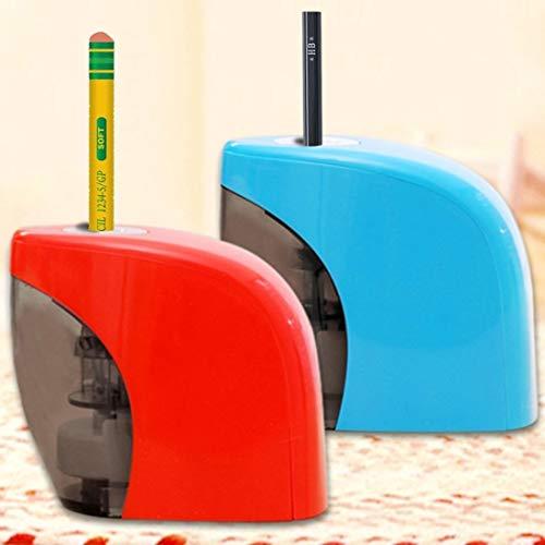 JINYANG Pencil Sharpener Office & Study Supplies USB Pencil Sharpener Electric Sharpener, Random Color Delivery JINYANG