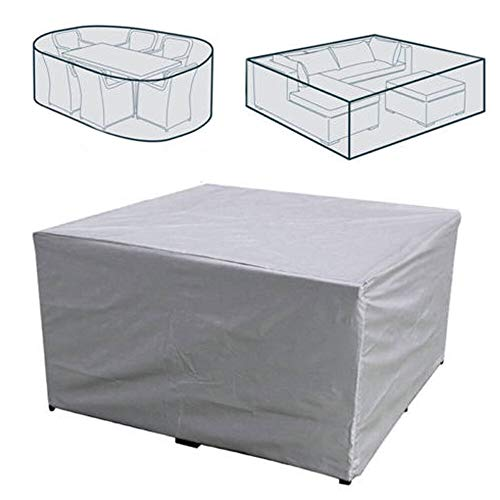 FQF Outdoor dust and rain Covers Outdoor Covers Waterproof Furniture Covers Sofa Chair Table Covers Garden Patio Beach Protector Rain Snow Dust Covers 5 Sizes (Specification : 43x43x32cm)