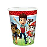 Amscan International 999135, Vasos para fiestas Patrulla Canina, 8 unidades