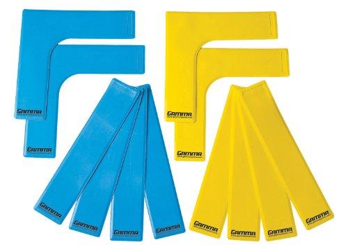 Gamma Sports Lines Pk Mini-CT-Linien, 12 Stück, Mehrfarbig, PC