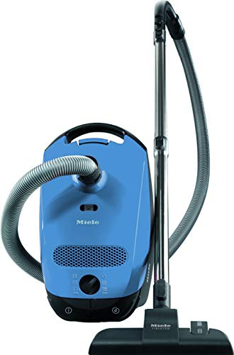 Miele Classic C1 Junior Ecoline Aspirapolvere, 550 watts, 4.5 litri, 78 decibels, raggio d azione di 9 m, Blu