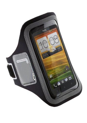 Pro-Tec Athlete Sport Armband Pouch Tasche für HTC One X - Schwarz