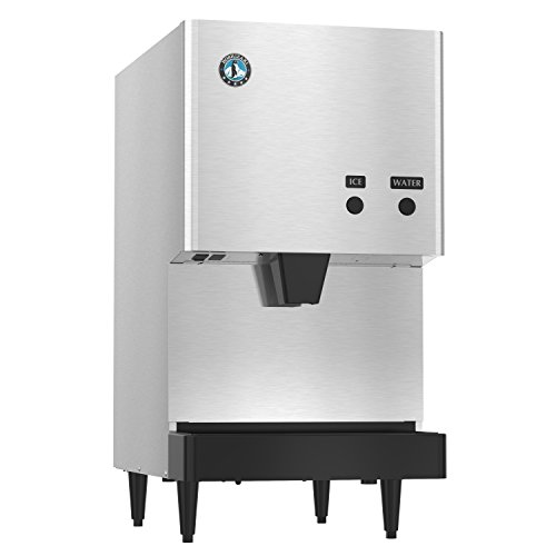 Hoshizaki DCM-270BAH Air-Cooled Countertop Ice Maker and Water Dispenser with 10 lb. Storage Capacity, 282 lbs/Day, 115v, NSF