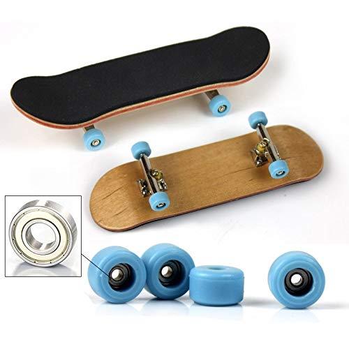 Dorime Mode Spielzeug Maple Pad Finger Stent Spielzeug Finger Skateboard Holz Skid Radlager Alufelgen 2ST