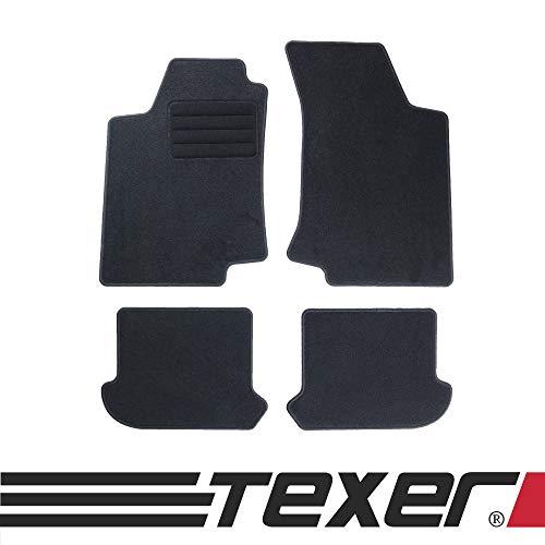 CARMAT TEXER Textil Fußmatten Passend für VW Golf III Bj. 1991-1999 Basic