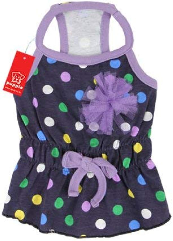 Puppia Fiesta Dress  purple Small