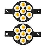 S Moule De Cuisine Finition Antiadhésive De Qualité Alimentaire Silicone De Sécurité S Crêpe Faisant Le Moule Avec Poignées Bricolage Outils De Cuisson Noir Pour La Cuisine Cuisson Des Bouilloires