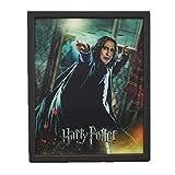 Pyramid International Harry Potter - Severus Snape (Piton) - Quadro Immagine 3D Lenticular 22x27cm con Cornice in Legno