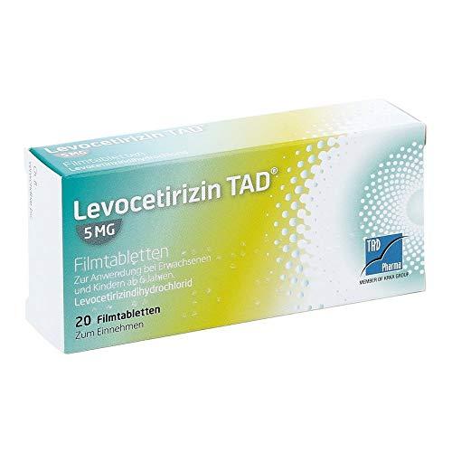 Levocetirizin TAD 5 mg Filmtabletten, 20 St