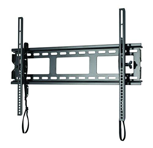 Sanus TV-Wandhalterung für Flachbildschirme (94-203 cm (37-80 Zoll) LED, LCD und Plasma-Flachbildfernseher und Monitore, Schwarz