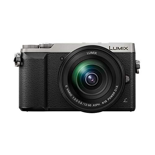 Panasonic Lumix GX80M | Cámara de Fotos híbrida compacta + Lente Lumix 12-60 mm (Sensor 4/3 16MP, Doble estabilización, Visor, Pantalla Inclinada, Tacto, AF DFD, vídeo 4K) Silver - Versión Francesa