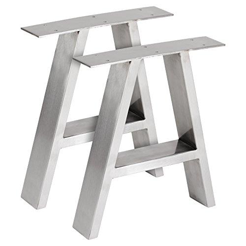 Hartleys Tischbeine in A-Form im Bauhaus-Stil – Verschiedene Größen & Farben
