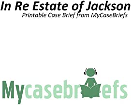 Best in re estate of jackson Reviews