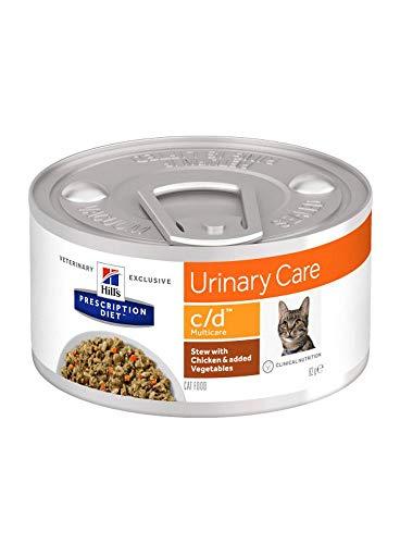 Hill's HPD Feline C/D Estofado Lata 82Gr 82 g
