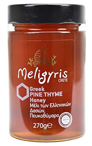 Griechischer Honig aus Kiefer und kretischem Thymian von Meligyris | Reiner unvermischter kretischer Honig (270)