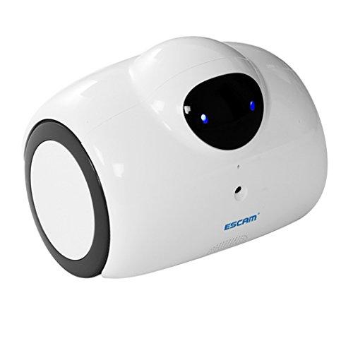 Homyl Escam Qn02 Robot WiFi Camera Smart Ip Camera di Sicurezza Presa per Fotocamera UE