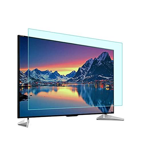 Yogafa Protector de Pantalla de TV de 52-70 Pulgadas, Protectores Anti de Pantalla de luz Azul, alivie la Fatiga Ocular Ultra-Claro para LCD, LED, OLED & QLED 4K HDTV,65' 1432 * 803mm
