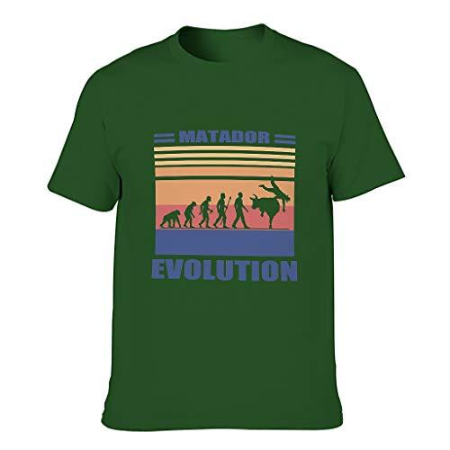 BTJC88 - Camiseta de algodón para hombre, diseño de Matador Evolution