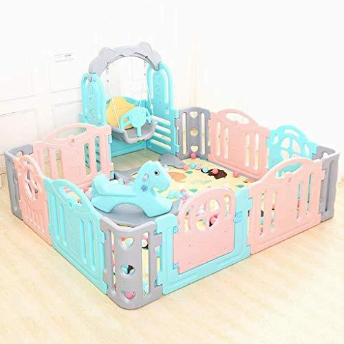 KidSafety PlaSpace - Parque de actividad para bebés y niños