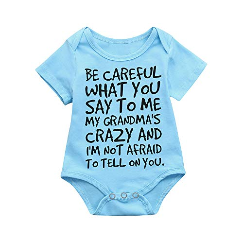 XBKPLO Baby Onesies Bodysuits Sleeveless Cotton Bodysuits Short-Sleeve Bodysuits