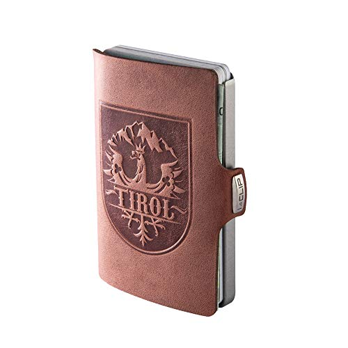 i clip wallet leather
