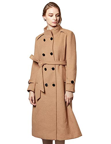 Best Parisian Style Winter Coats For Women Brown Trench Coat Paris Chic Style Street New York Italy USA