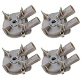 Siwdoy (Pack of 4) 3363394 Washer Drain Pump Replacement Part for Whirlpool 3352293 3352292 WP3363394