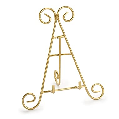 Darice 6555-03 Decorative Easel, 9-Inch, Gold