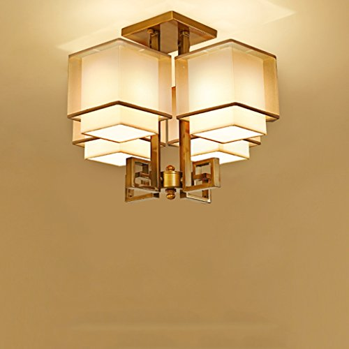 WWW plafondlamp Oosterse stijl LED-lampen woonkamer verlichting slaapkamer verlichting zacht verblindend