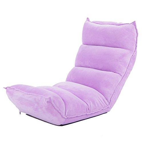 XING ZI LAZY SOFA L-R-S-F Canapé-lit, Chaise Longue Pliante, Chambre à Coucher Mignon, Chaise décontractée décontractée, Chaise Informatique Multifonction (Couleur : 1#)