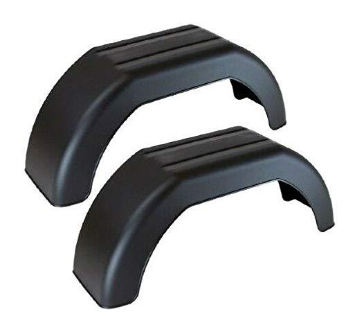 Maypole UK Ltd Lot de 2 Garde-Boue de en Plastique pour remorque de 20,3 cm de diamètre