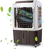 Enfriador de aire evaporativo para interiores y exteriores, 3 modos/velocidades, aire acondicionado portátil, enfriador de pantano con ventilador y humidificador para restaurante de fábrica mecánica