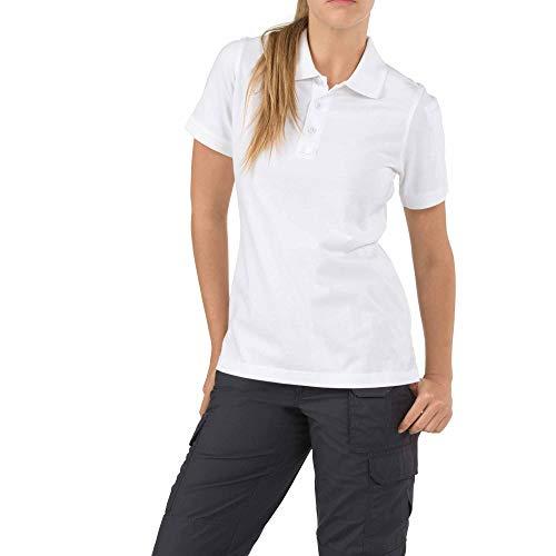 5.11 Tactical #61164 Women's Tactical Short Sleeve Poloshirt XL weiß