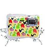 Kids Digital Camera - Vmotal Waterproof Camera for Kids with 2.0 inch TFT Display, 8MP Children Underwater Camera for Boys Girls Toys Gift