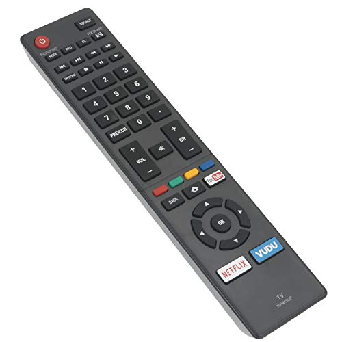 NH415UP Replace Remote Control fit for Sanyo LCD LED TV HDTV FW50C85T FW50C36F FW50C78F FW65C78F FW55C78F FW43C46F FW55C46F with You Tube Netflix VUDU App Keys