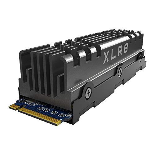 PNY XLR8 CS3040 M2 NVMe Gen4 x4 Internal Solid State Drive SSD mit Heatsink 2TB Lesegeschwindigkeit bis zu 5600 MBs Schreibgeschwindigkeit bis zu 4300 MBs M280CS3040HS 2TB RB