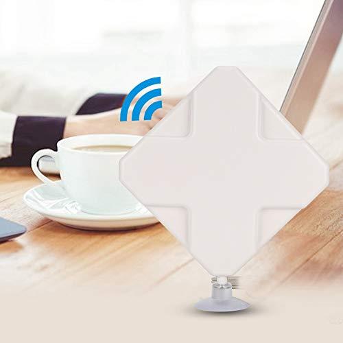 Router WiFi, High Gain Router Antenne für Huawei E5375 ZTE Router mit 2m Kabellänge (TS9)