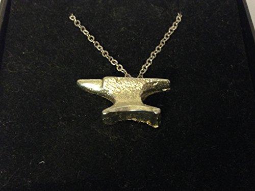 Anvil GT32 - Collar de cadena chapada en plata de 24 pulgadas, con código 1 publicado por Estados Unidos para todos los 2016 de Derbyshire Reino Unido