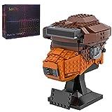 SESAY Juego de construcción de cascos de Wars, 591 piezas, modelo Boushh, compatible con Lego Star Wars 75304 75277 75276