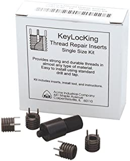 3//4-16 Ext THD Keylocking Threaded Inserts Stainless Steel Heavy Duty 1//2-20 Int 0.62 Lg 1 Each THD