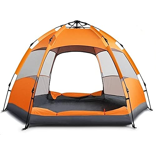 5-7 Persons Camping Tent Dual Layer Summer Tent...