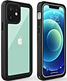 Diverbox for iPhone 12 Waterproof Case,Waterproof Shockproof Dustproof IP68 Full-Body Hard Case Built-in Screen...