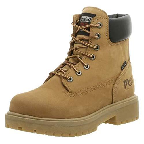 Timberland PRO Men's Direct Attach Six-Inch Soft-Toe Boot, Wheat Nubuck,12 M