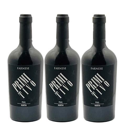 Rotwein Italien Primitivo Puglia Farnese/Fantini trocken (3x0,75L) Liter