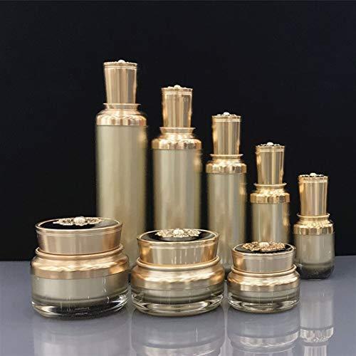 Flacon contenant cosmétique 5pcs 15g 30g 50g Crème acrylique 15/30/50/100/120ml Vide Cosmétique Emballage Conteneur Bouteille de pompe de pompe ( Color : 120ml lotion bottle , Specifications : 5pcs )