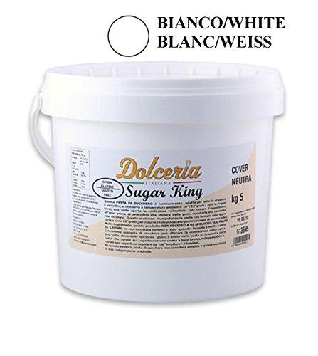 Pasta di Zucchero 5 KG - BIANCO